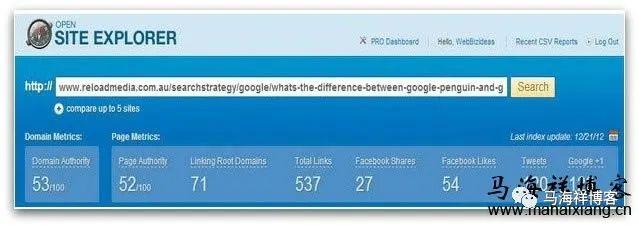 Google搜索引擎喜欢的17类网站内容模式
