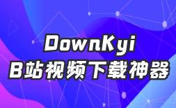 B站视频下载神器(DownKyi)