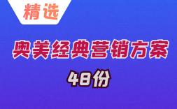 奥美经典案例方案精选(48份)