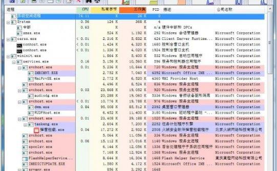 Process Explorer免费增强型任务管理器